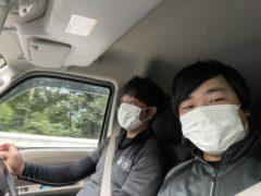 耐火被覆工事 in 奈良県某所
